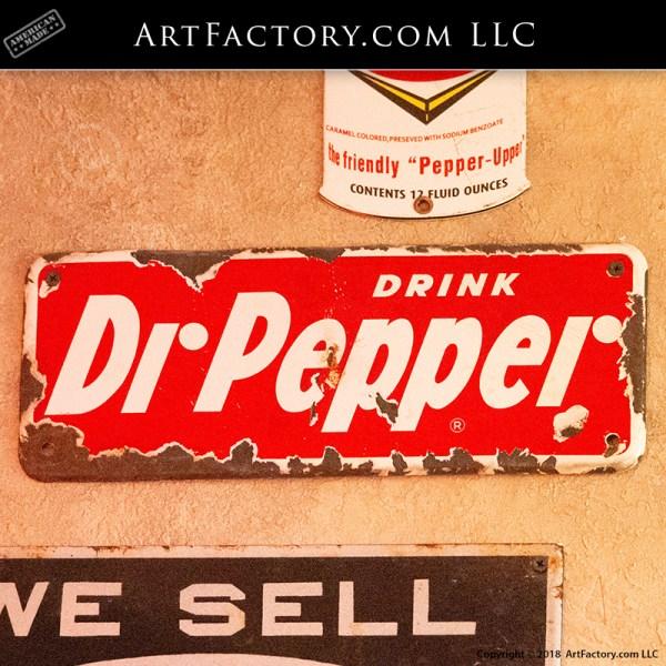Rare Antique Dr Pepper Sign