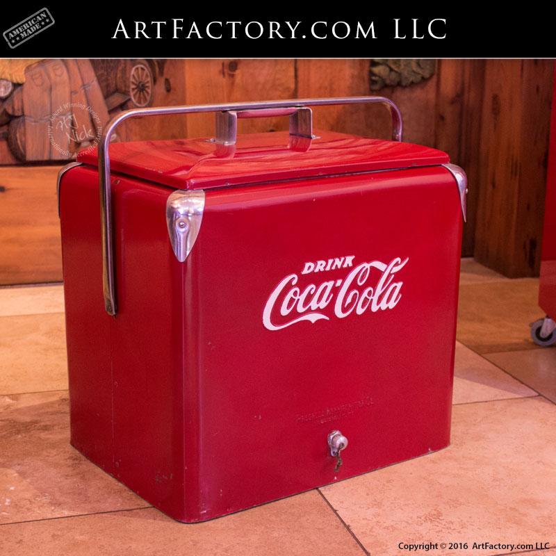Vintage 1950's Coca-Cola Ice Chest
