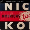 vintage Nichol Kola sign