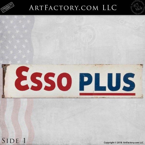 vintage Esso Extra Plus sign