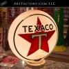 Texaco milk glass gas globe