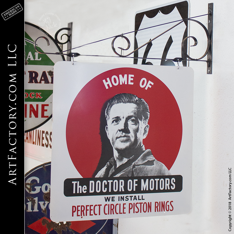 Perfect Circle Piston Rings Sign The Doctor Of Motors