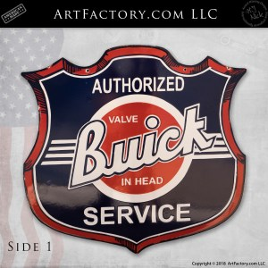 Vintage Buick Service Sign