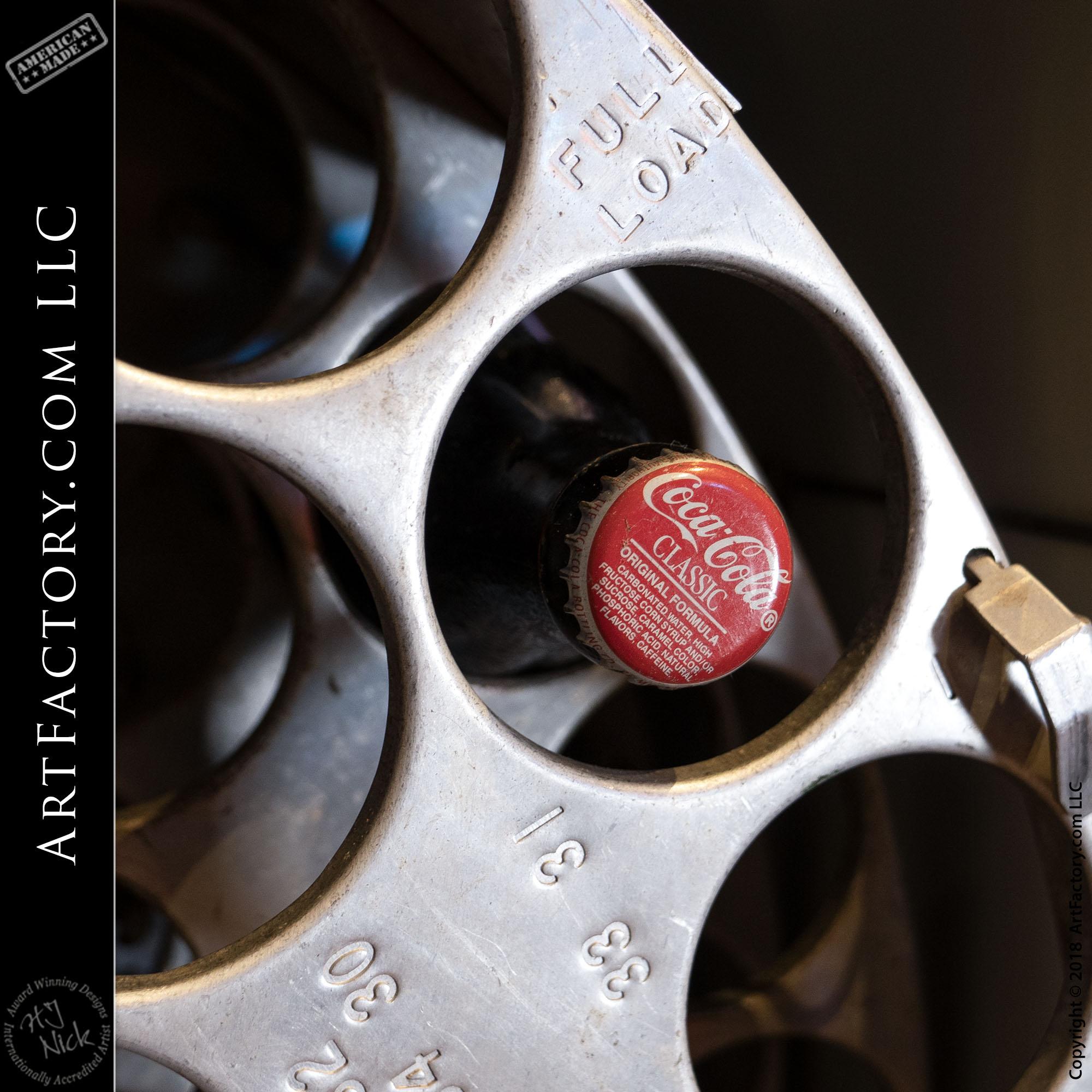 Rotating Wheel Coca Cola Vending Machine