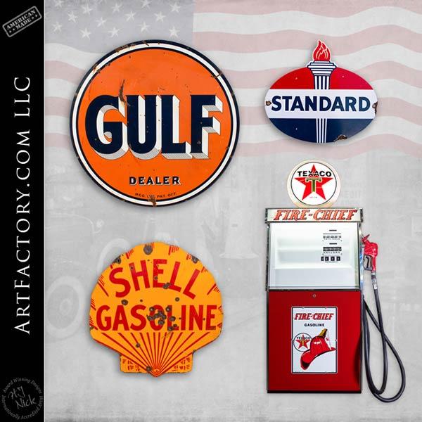 collectible gas station petroliana