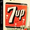 Fresh Up 7-Up Soda Vintage Sign