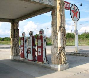 Texaco Station - As Was On Rt 66 -  FS490
