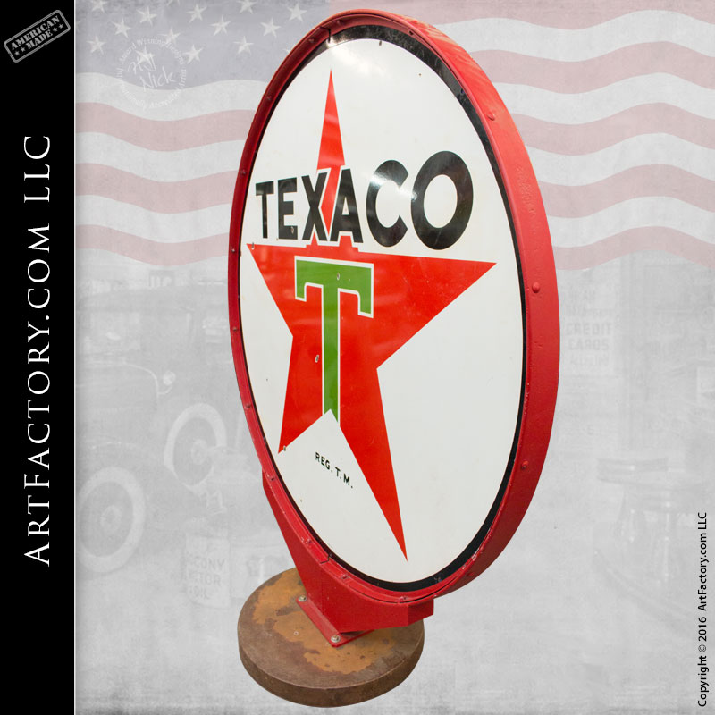 Derby Texaco Star Sign