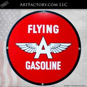Flying A Gasoline Sign - VS050