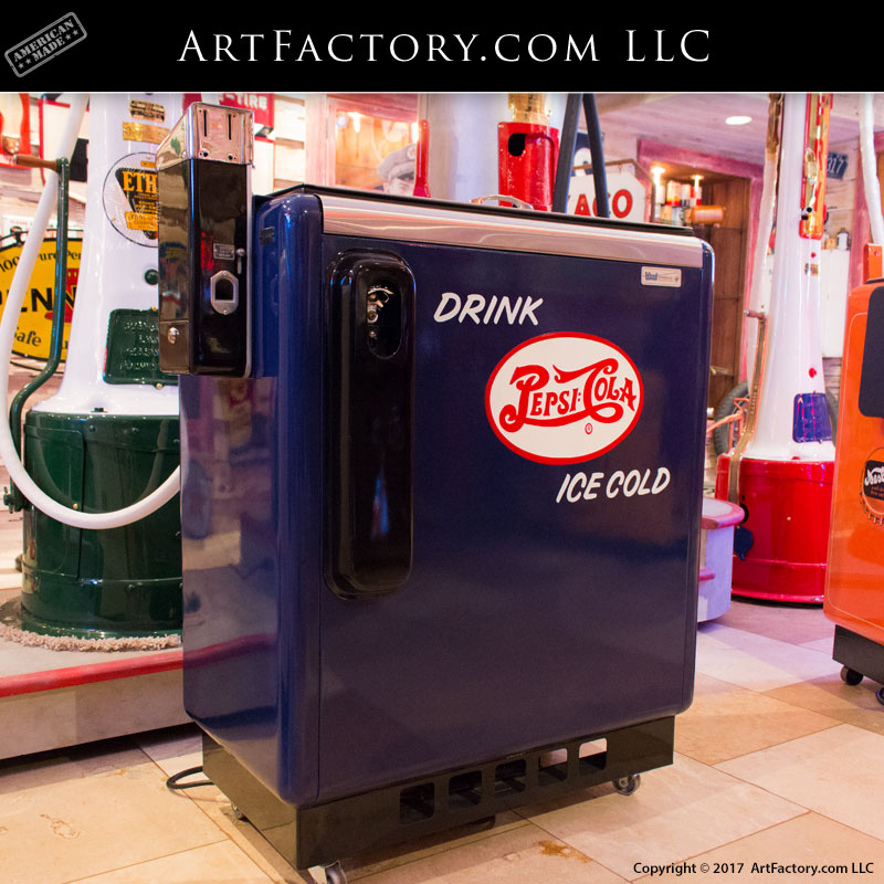 Pepsi 5 cent Hand Made Cabinet Man cave Gameroom