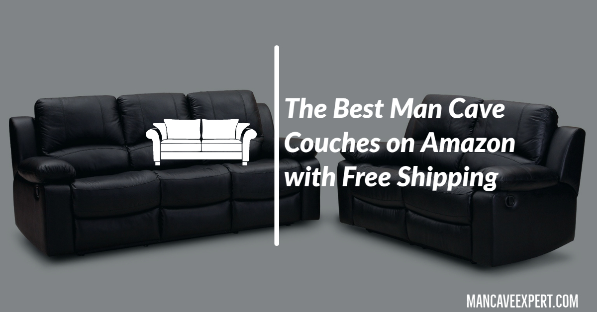 The Best Man Cave Couches on Amazon with Free Shipping