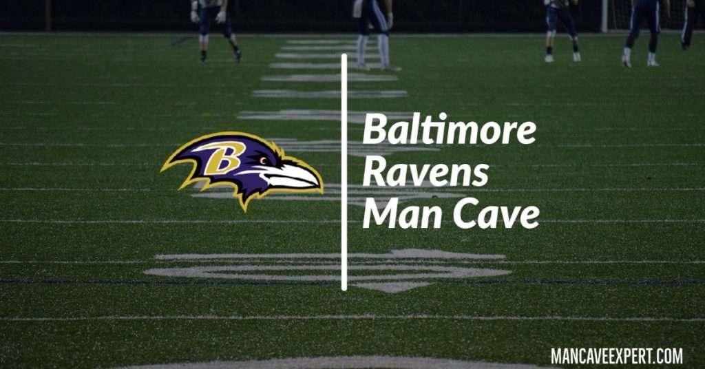 Baltimore Ravens Man Cave