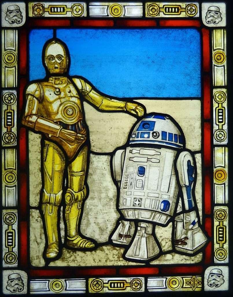 Star Wars Stained Glass Window