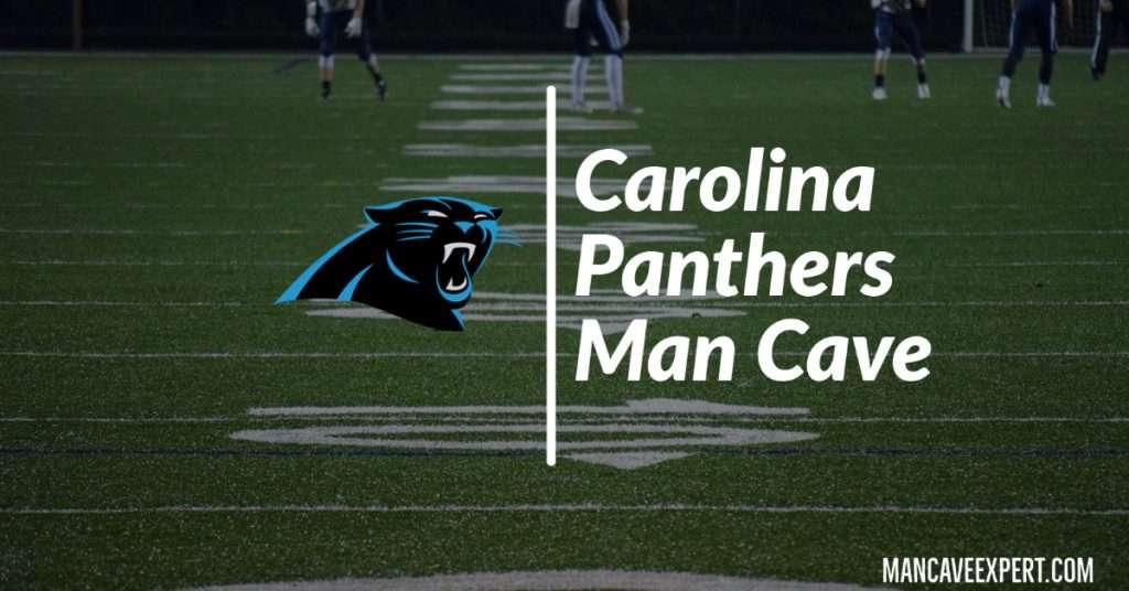 Carolina Panthers Man Cave