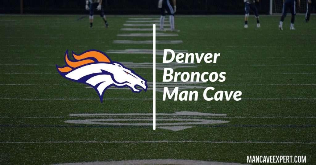 Denver Broncos Man Cave