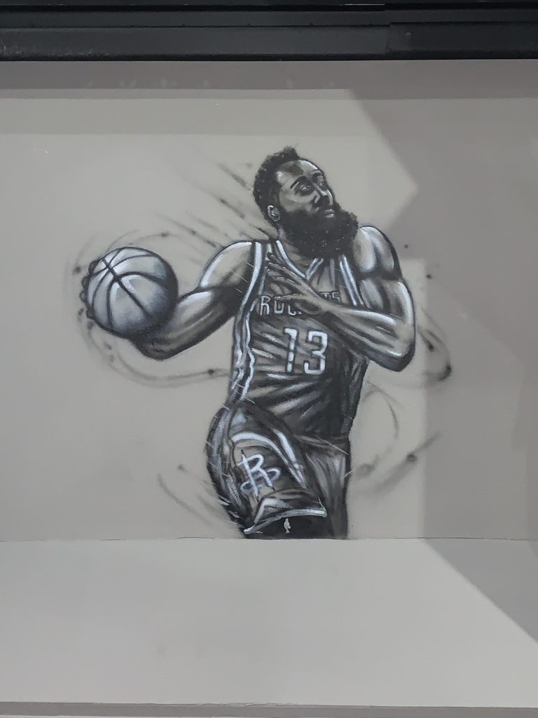 James Harden Wall Mural