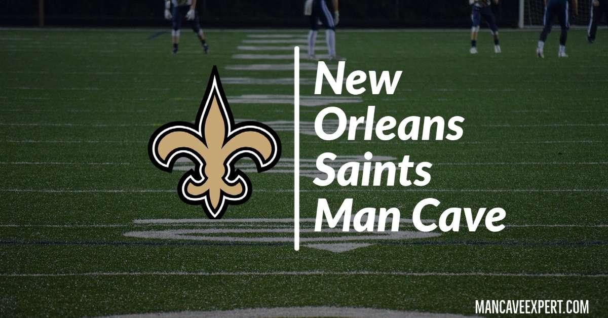New Orleans Saints Man Cave