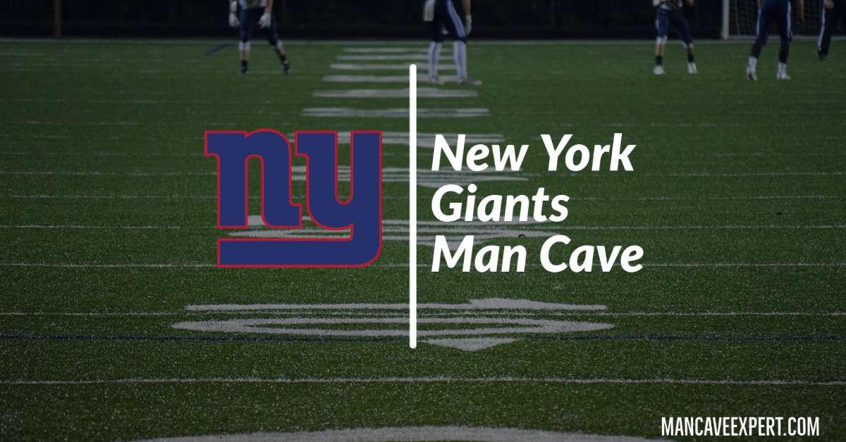New York Giants Man Cave