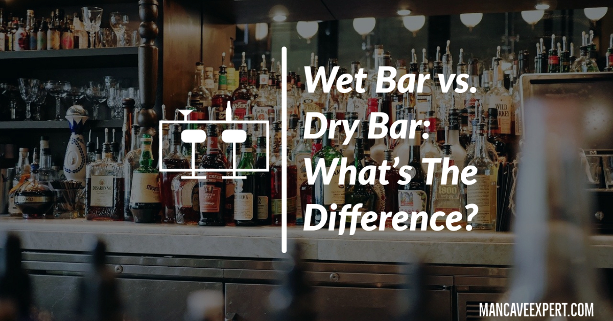 Wet Bar vs. Dry Bar What's The Difference