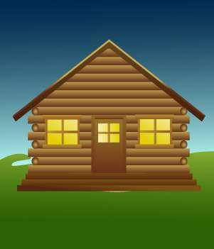 17.Log Cabin