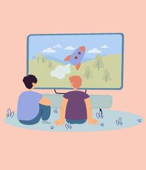 8.Large TV
