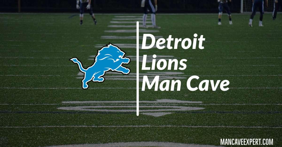 Detroit Lions Man Cave