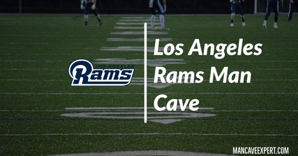Los Angeles Rams Man Cave