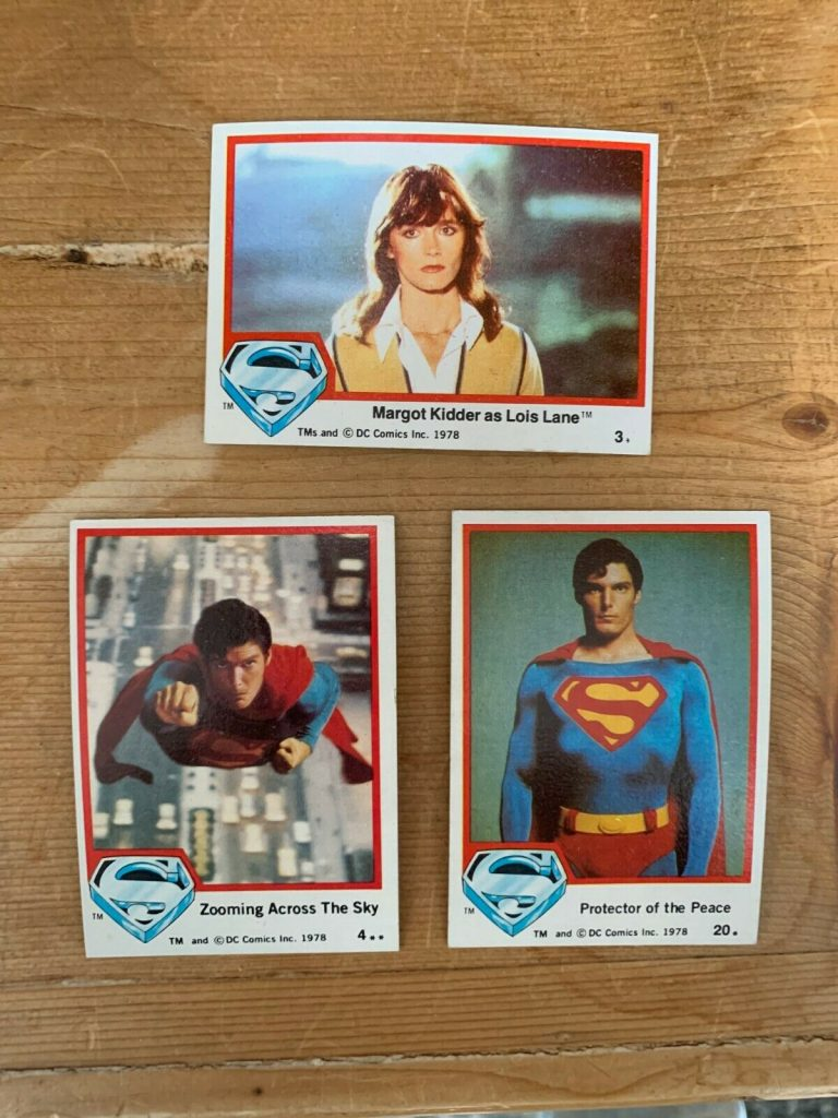 Superman Trading Cards 1978