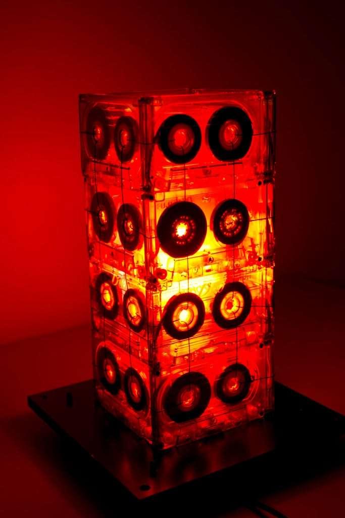 Cassette Tape Table Lamp