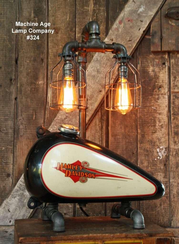 Harley Davidson Motorcycle Gas Tank Lamp