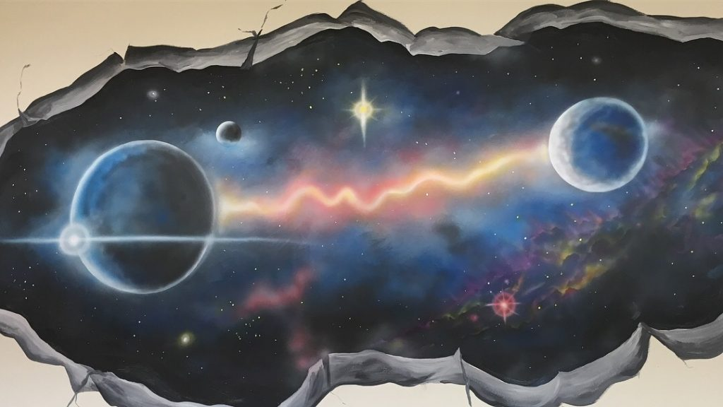 Salcreations Space Wall Mural