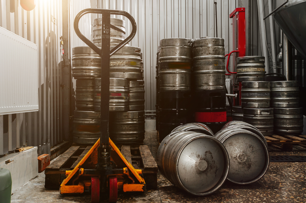 What temperature do you keep kegs at