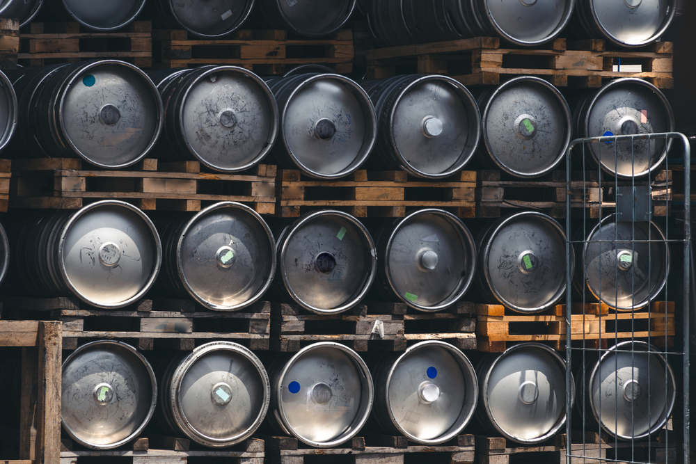 What can I do with an empty beer keg