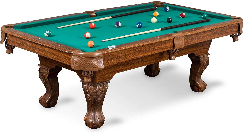 eastpoint sports masterton billiard pool table, green