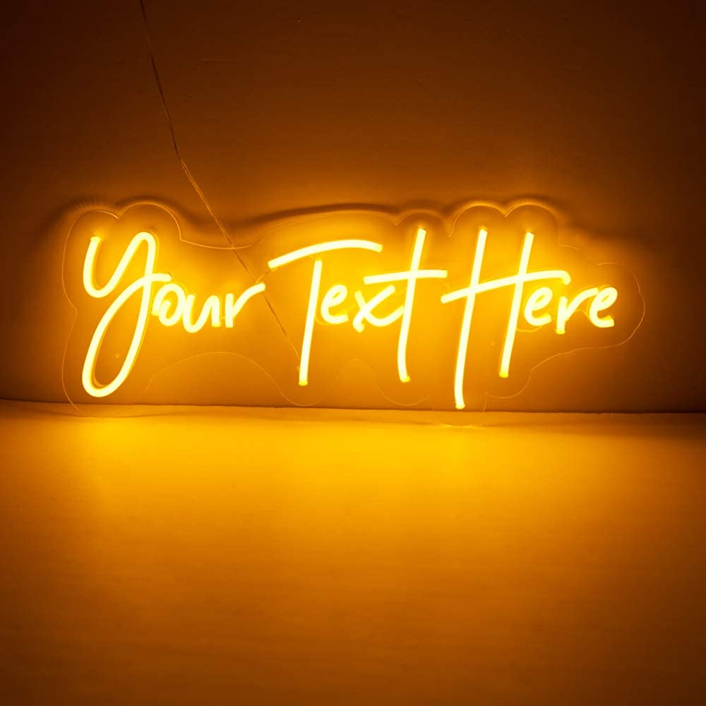 jadetoad custom led neon light signs individual personalized design for wall decor