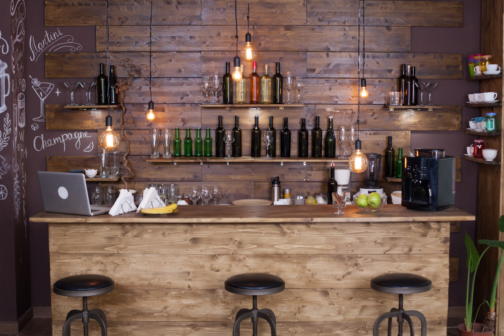 man cave bar ideas featured image
