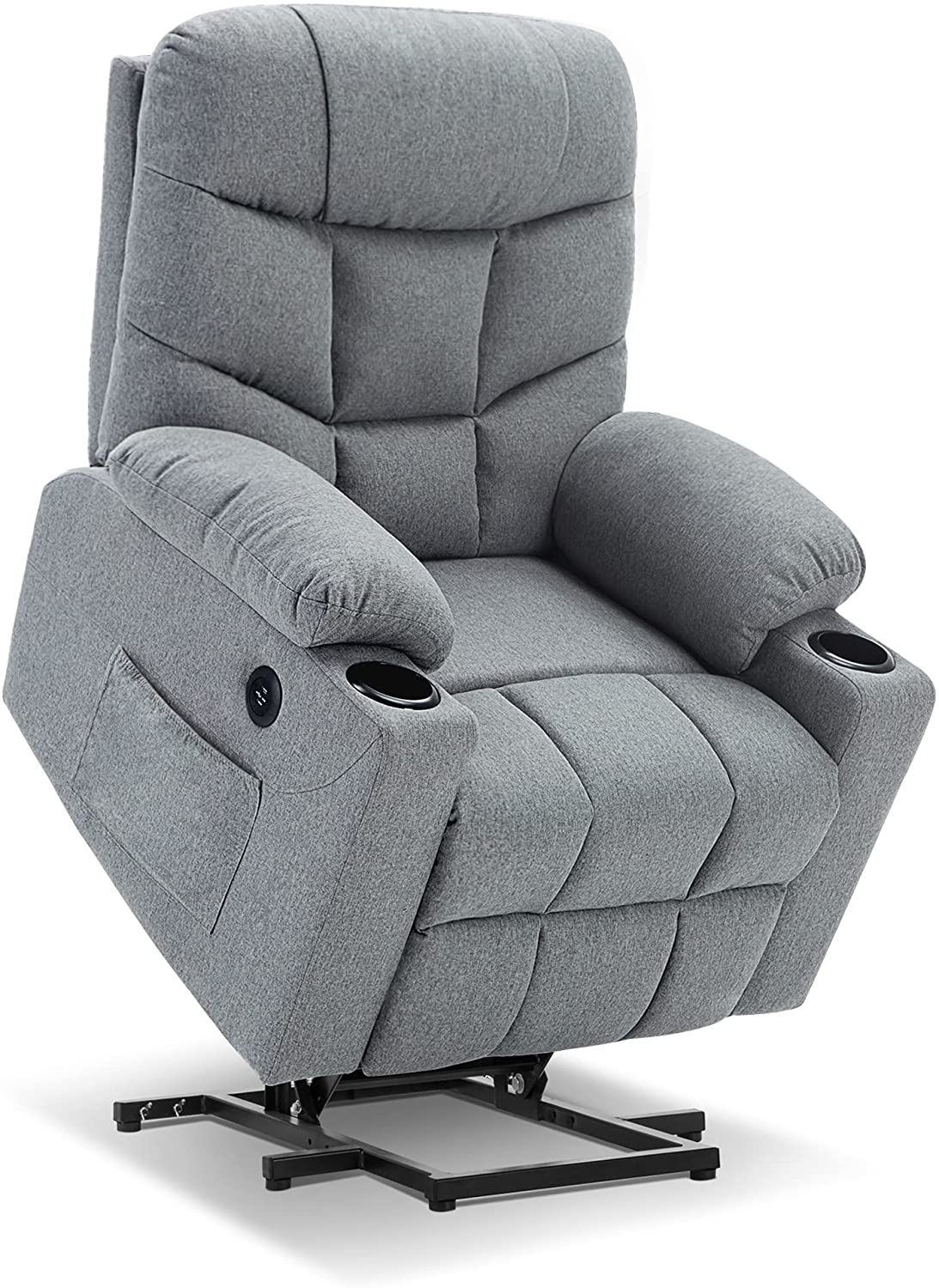 mcombo electric power lift recliner chair sofa for elderly