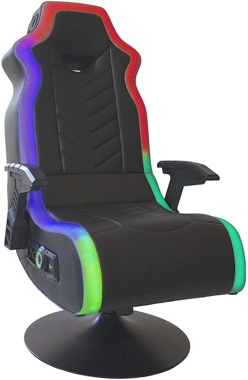 x rocker 5152401, rgb prism pedestal gaming chair