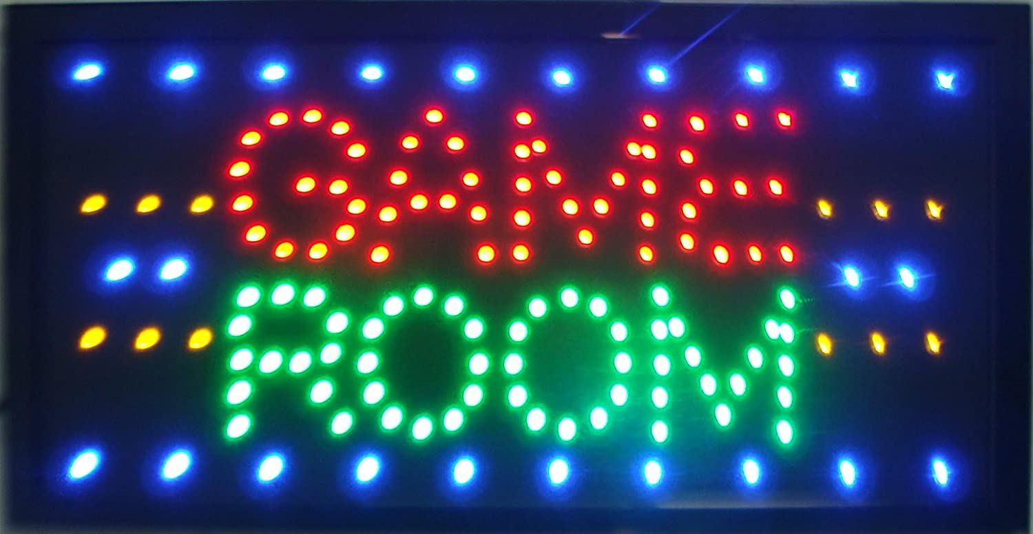 chenxi led neon game room entertainment sign