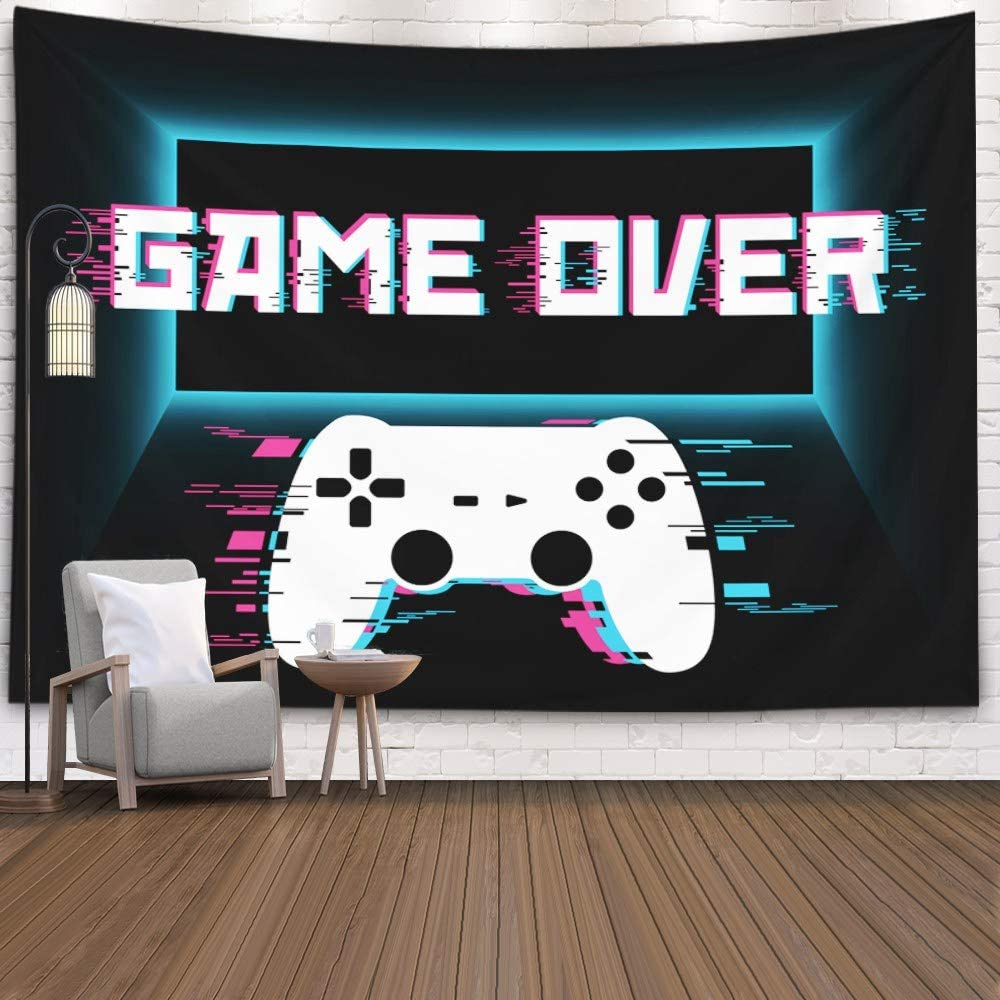crannel gaming wall tapestry