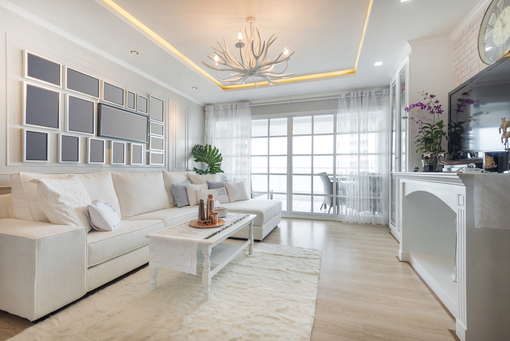 renovation white living room with fondness of all white tones