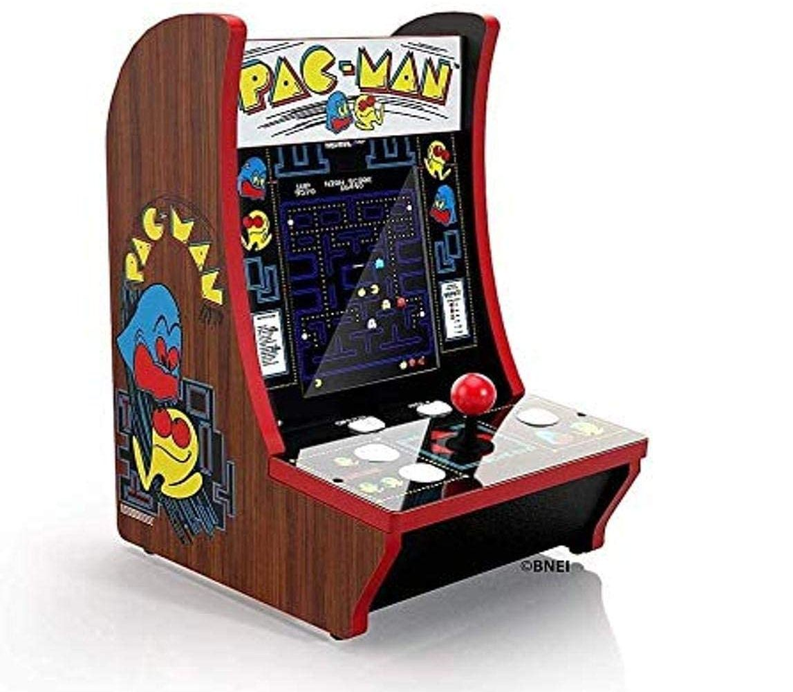 arcade 1up pacman countercade game machine