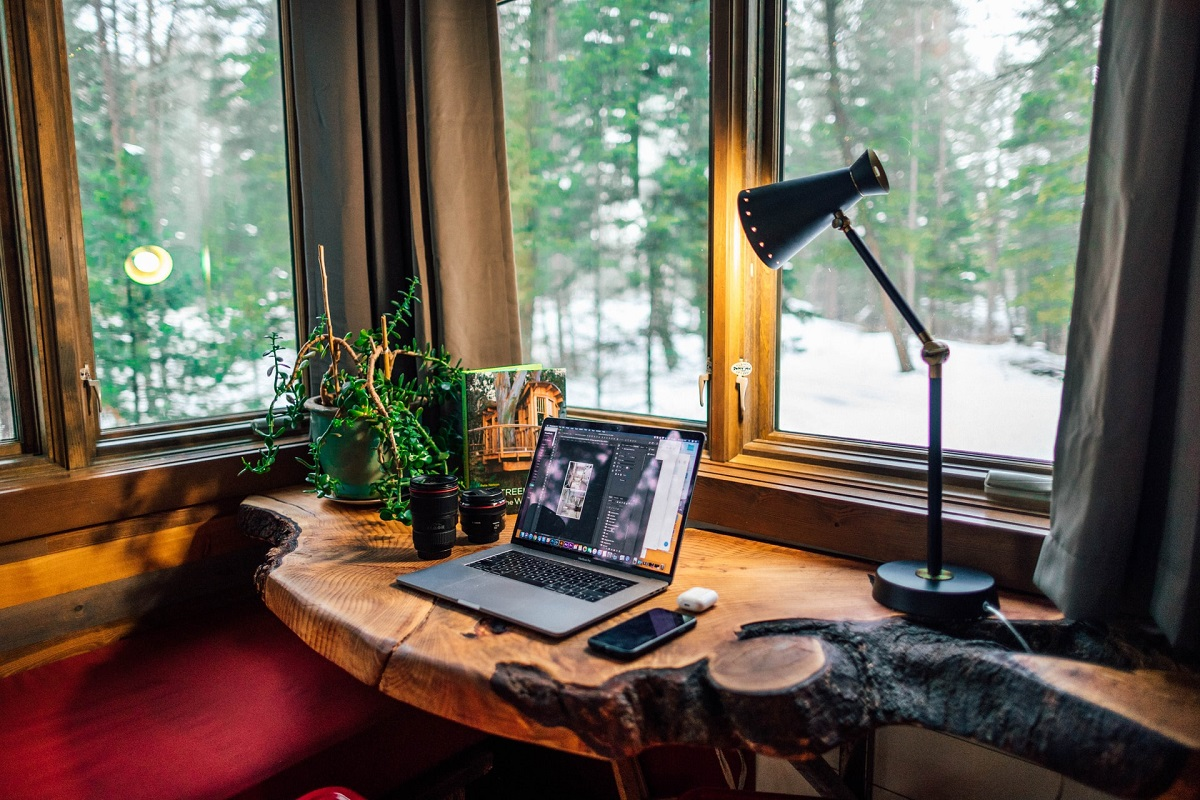 beautiful view home office