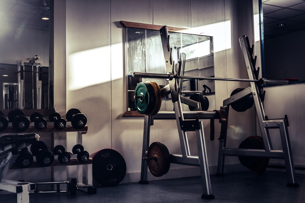 weight training compact home gym featured image