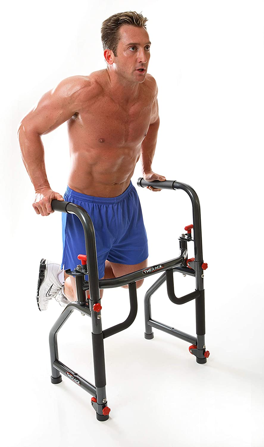 man using therack workout station the rack