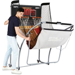 ESPN EZ Fold Indoor Basketball Reviews - foldup