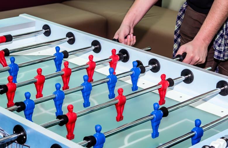 games room foosball