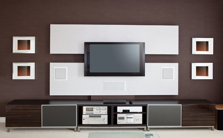 man cave entertainment center ideas