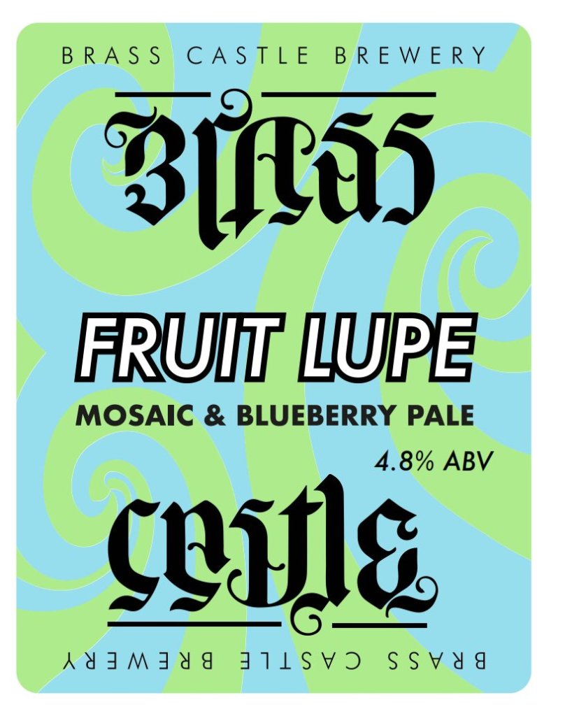 Brass Castle Fruit Lupe