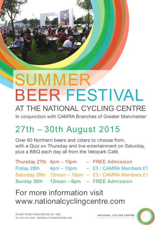 NCC Beer Festival A5 2015
